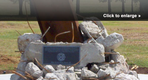 The Tennessee Fallen Firefighter Memorial has added a beam from the World Trade Center.